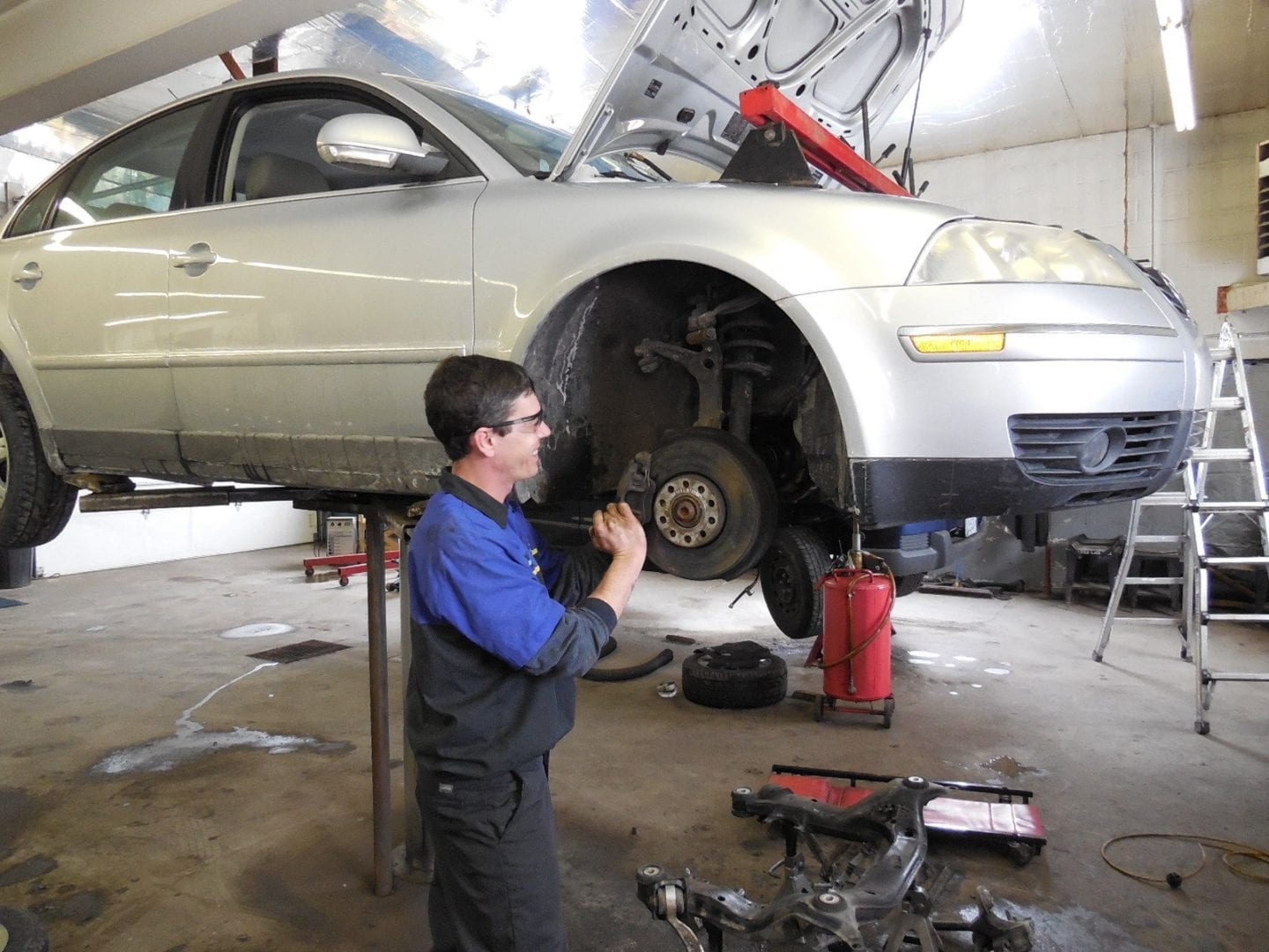 Image of a mechanic working - Auto repair service in Bedford PA