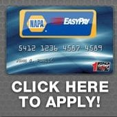 Apply for credit card - Auto repair service in Bedford PA