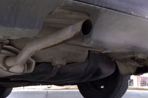 image of a muffler - auto repair service in Bedford PA
