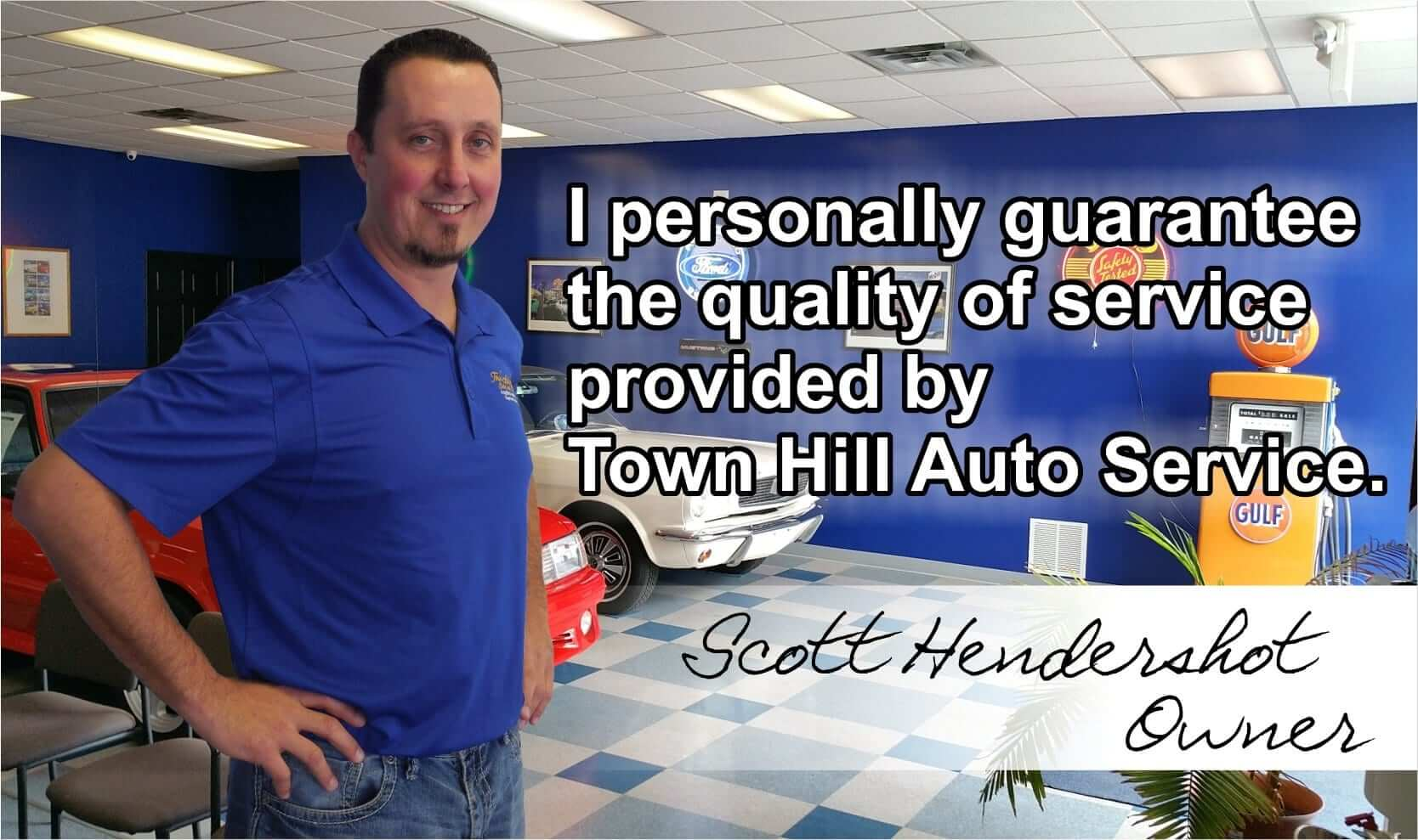 Scott Image - Auto repair service in Bedford PA