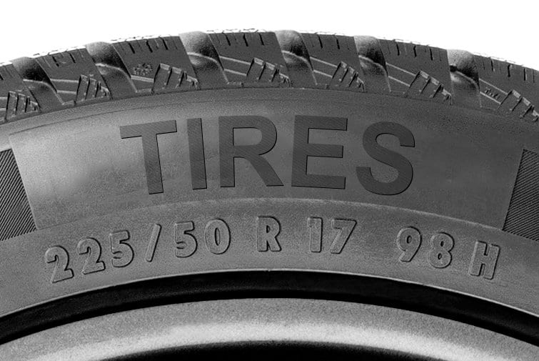 What do those numbers on my tires mean?