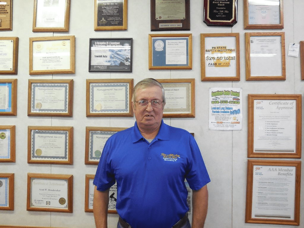 Willis - Town Hill Auto Repair Service in Bedford PA